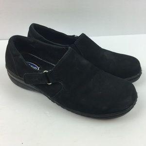 Dr Scholl's leather loafer adjustable shoes 7.5